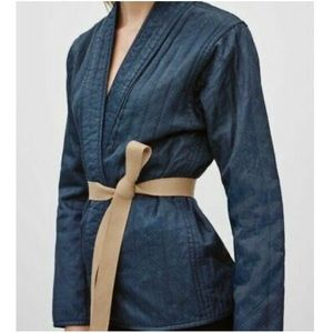 Aritzia TNA Quilted Patterned Kimono Jacket Size S